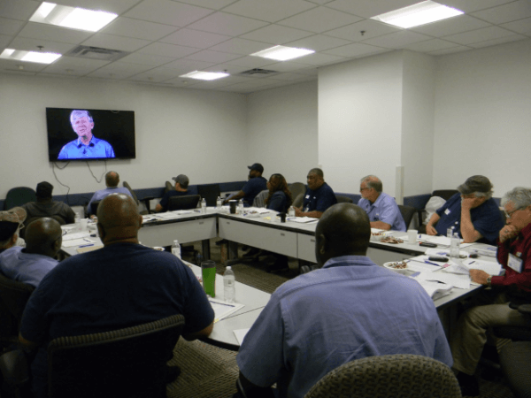 CDC Leads Undergo Transformational Leadership Class