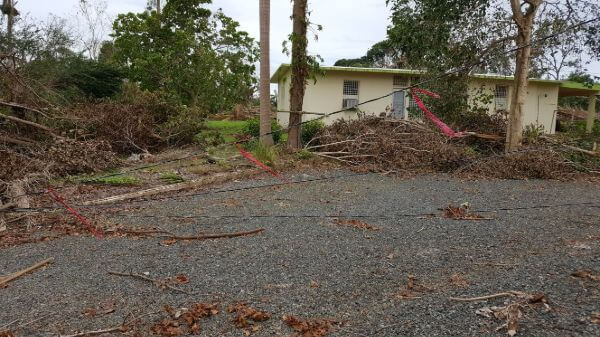 Hurricaine Damage in Puerto Rico