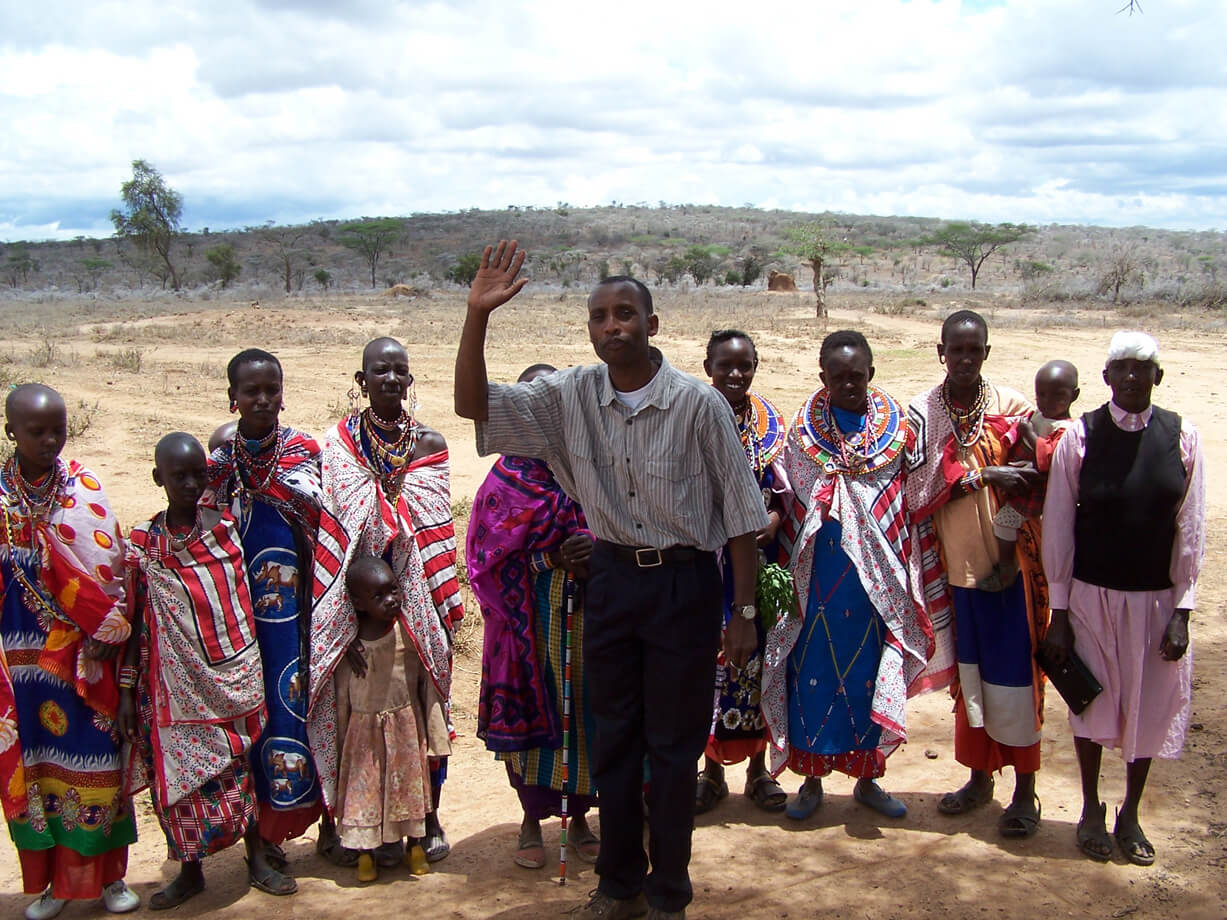 Members of the Maasai Tribe