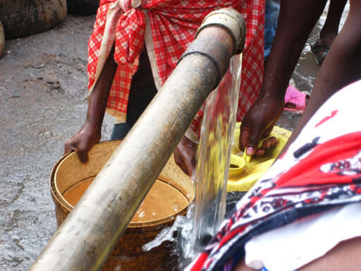 One of the wells built in Kenya